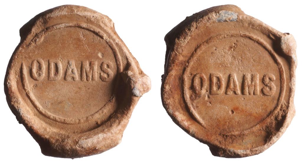 Plomb d'un sac d'engrais de la marque ODAMS. D798310