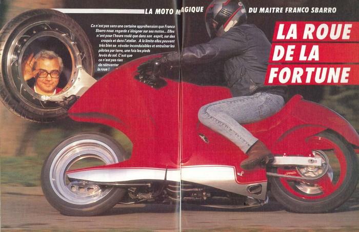 Sbarro , le magicien et sa roue sans moyeu Sbarro11