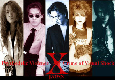 [J-Metal/Visual Kei] X-JAPAN X-japa10