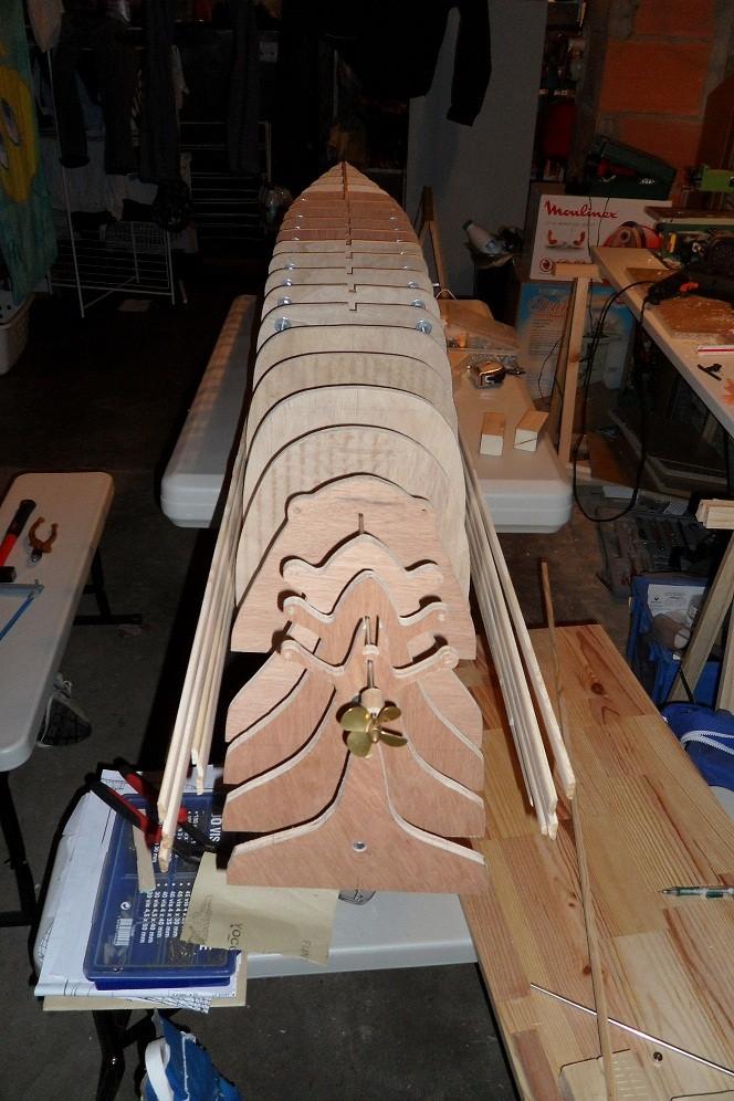 piani  -scr - HMHS Britannic - (realizzazione su base Titanic Amati 1/200) - Pagina 6 Sam_7011