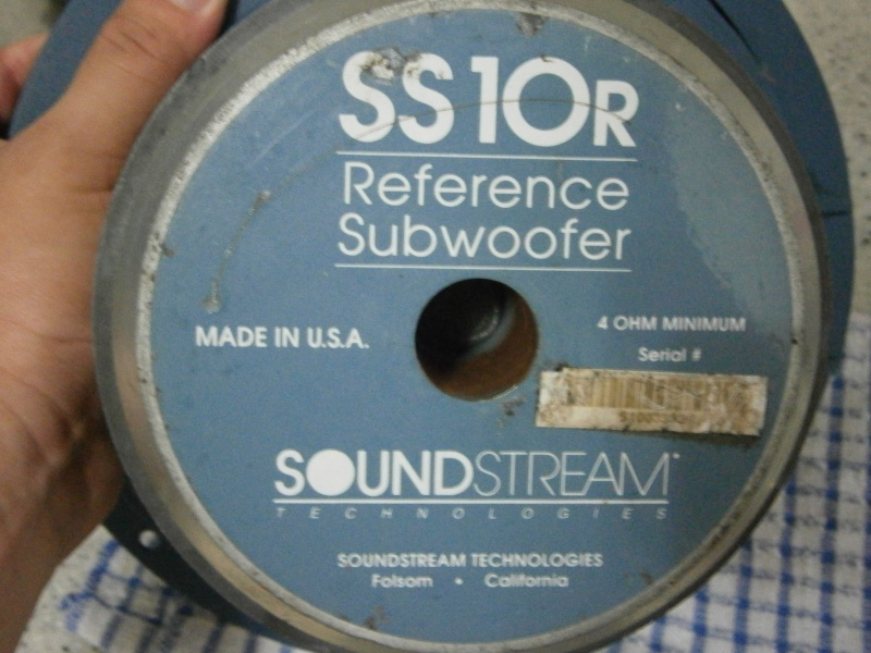 "Soundstream 10"" Subwoofer - Price reduce P8110111"