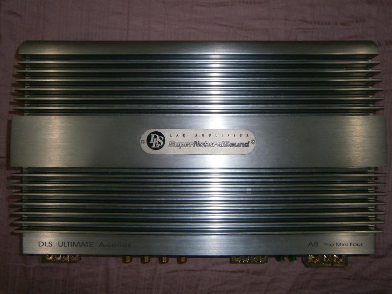 DLS Car Amplifier - SOLD P8230111