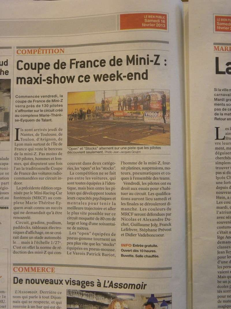 15,16,17/02/2013 COUPE DE FRANCE à Dijon inscription ouverte - Page 19 Dscn1910