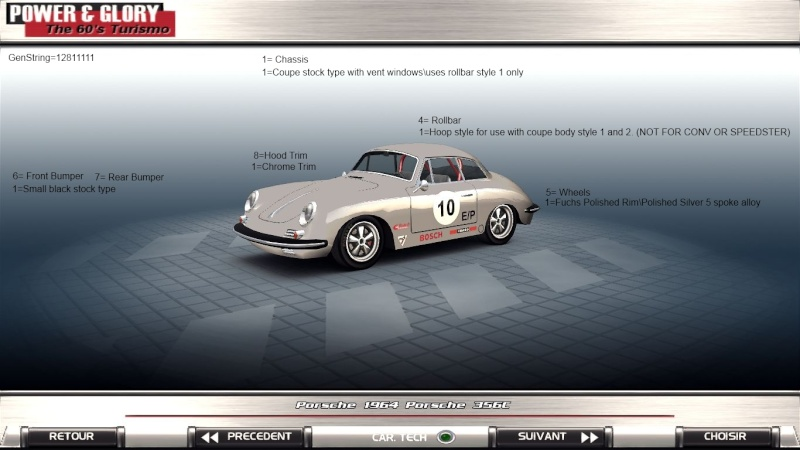 Porsche 356 E Production release. 110