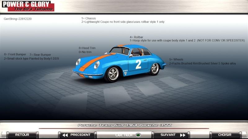 Porsche 356 E Production release. 210