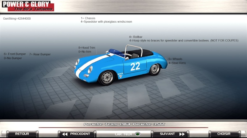 Porsche 356 E Production release. 410