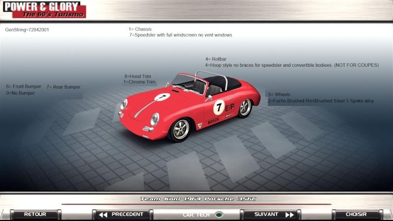 Porsche 356 E Production release. 710