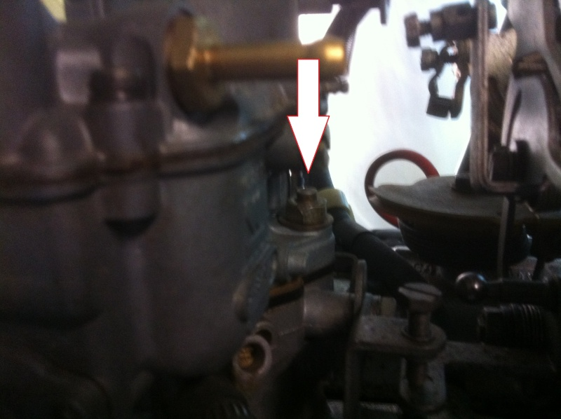refection des carburateurs weber35IBSH pour samba 80HP - Page 2 02512