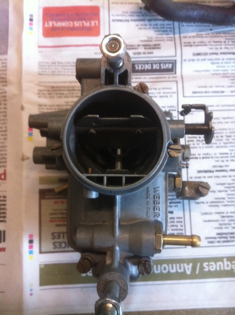 refection des carburateurs weber35IBSH pour samba 80HP - Page 2 03310