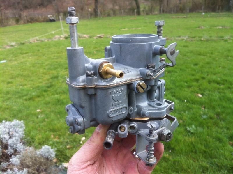 refection des carburateurs weber35IBSH pour samba 80HP - Page 2 05710
