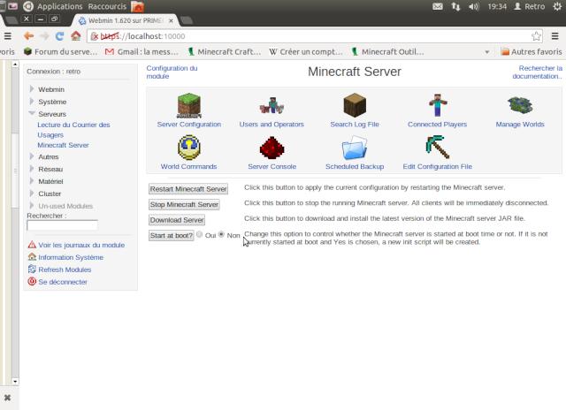 """Un coup d'oeil sur """"Webmin"""" un serveur web bien utile ! Captur11"""