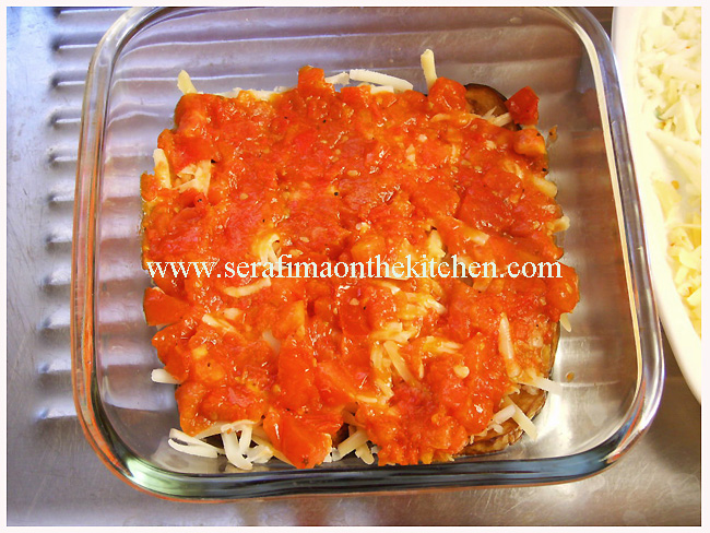 Parmigiana di melanzane - итальянская баклажановая запеканка с сыром Biting12