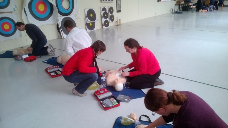 """Stage """"premiers secours"""" 1410"""