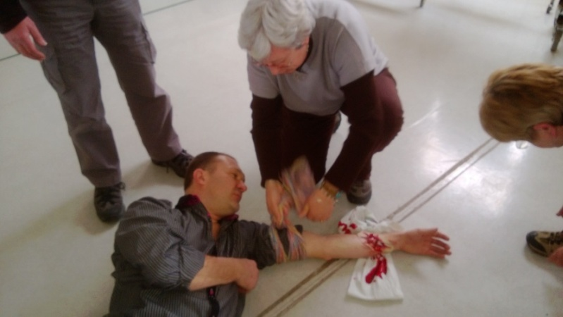 """Stage """"premiers secours"""" 1610"""