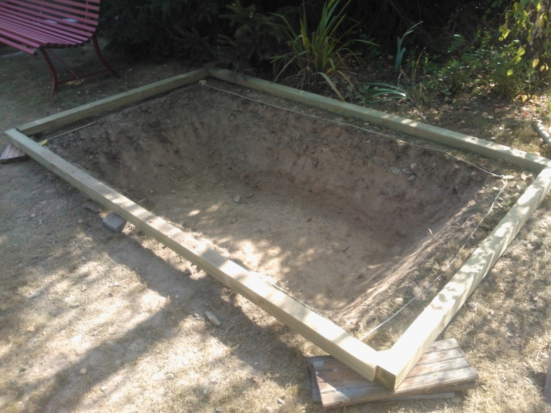 Bassin 3000L semi enterré, partie hors sol bois Wp_00016