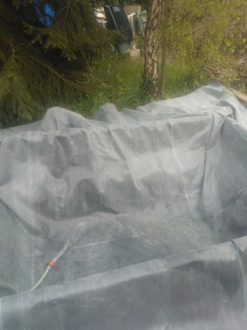 Bassin 3000L semi enterré, partie hors sol bois Wp_00128