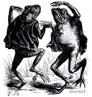 LOUIS BRETON ( XIXè) Frogs11