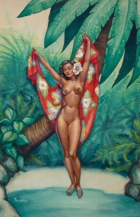 MARGARET BRUNDAGE (1900-1976) Hawaii10