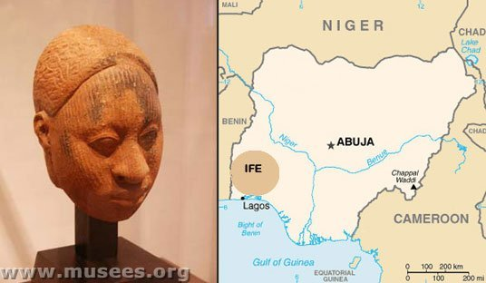 LES VISAGES DES STATUES D'IFÉ (NIGÉRIA) Photo110