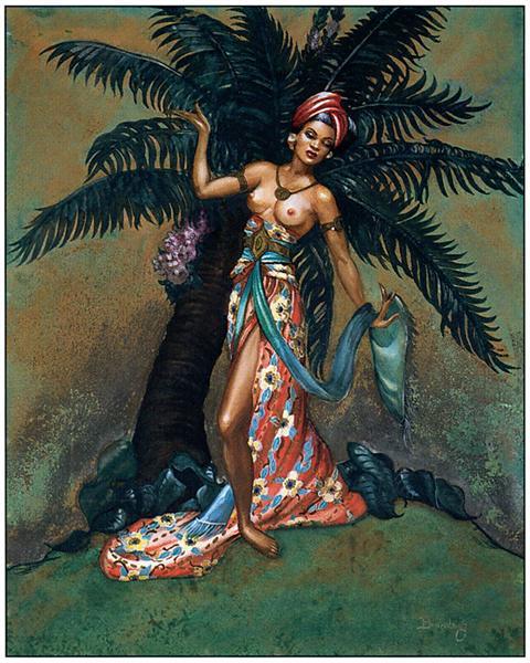 MARGARET BRUNDAGE (1900-1976) Tropic10