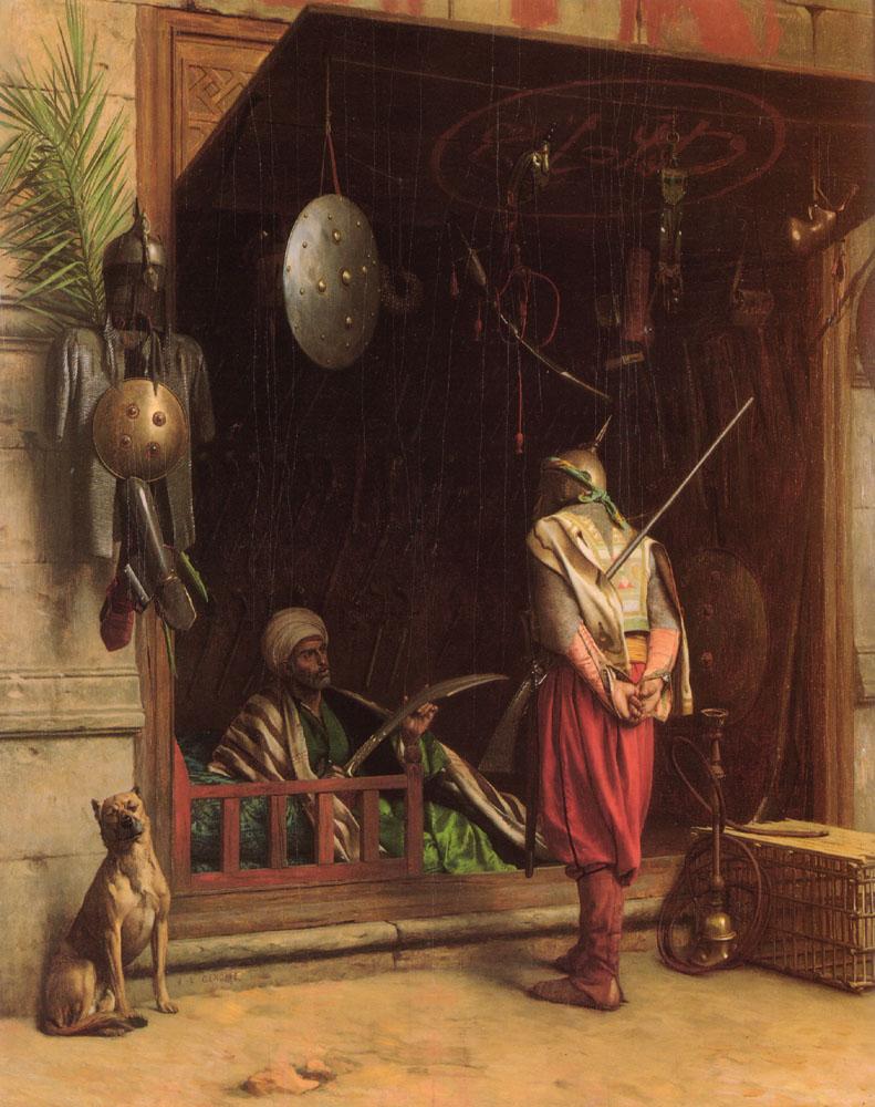 JEAN-LEON GERÔME (1824-1904) Un_mar10
