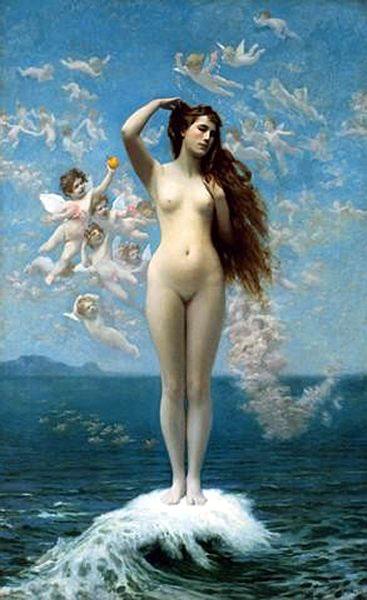 JEAN-LEON GERÔME (1824-1904) Venus_10
