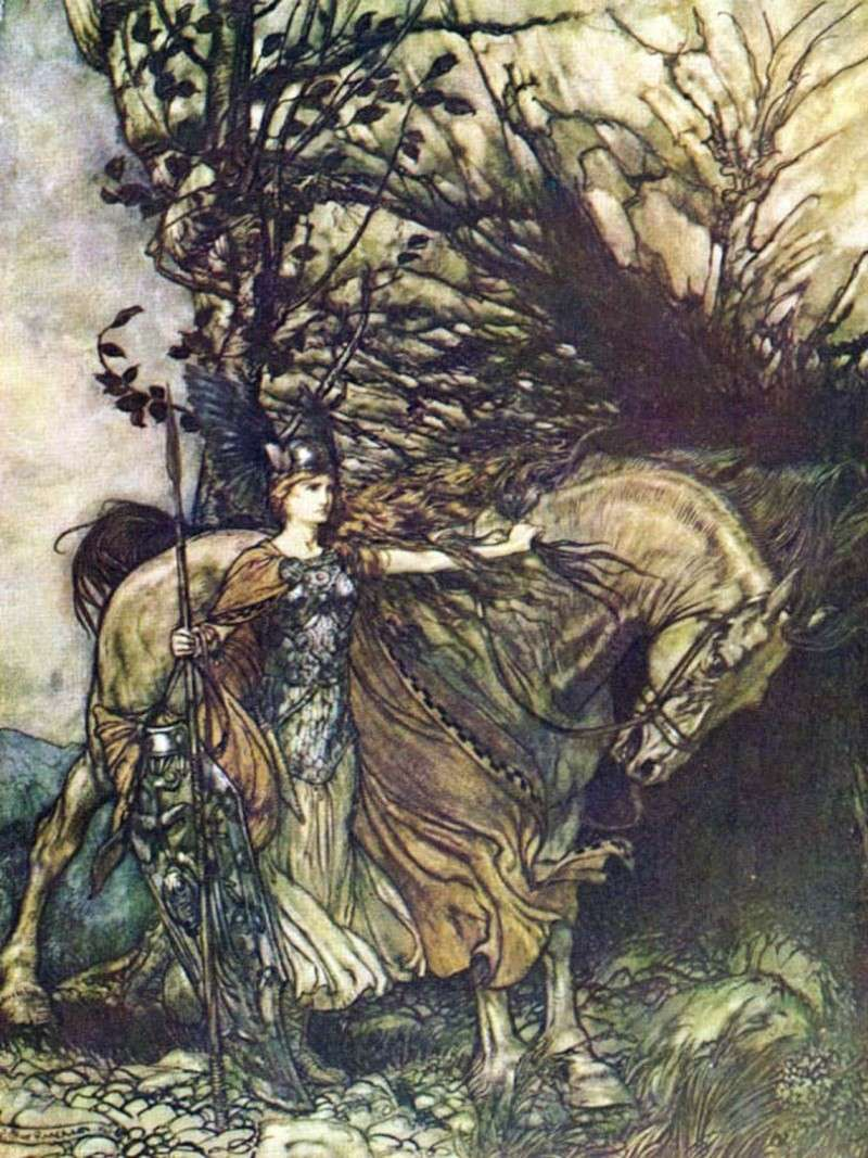 ARTHUR RACKHAM (1867-1939) Wagner10