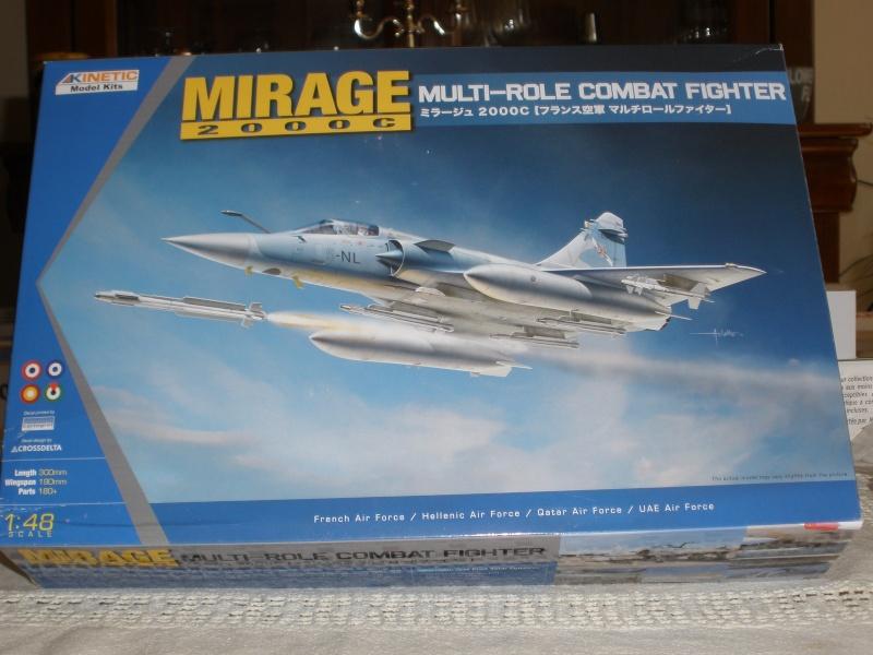 Revue de kit Mirage 2000-C Kinetic 1/48. P3080220
