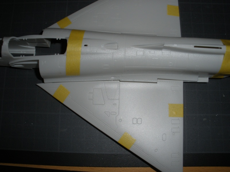 Revue de kit Mirage 2000-C Kinetic 1/48. P4210233