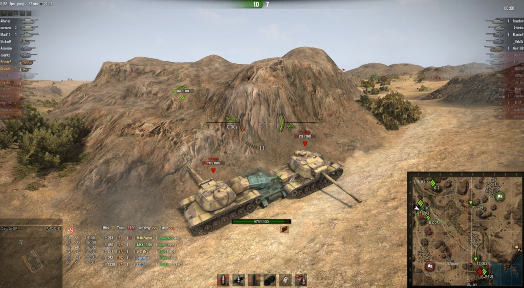 How to rape T110E4 with scouts, for Beginners! Shot_010