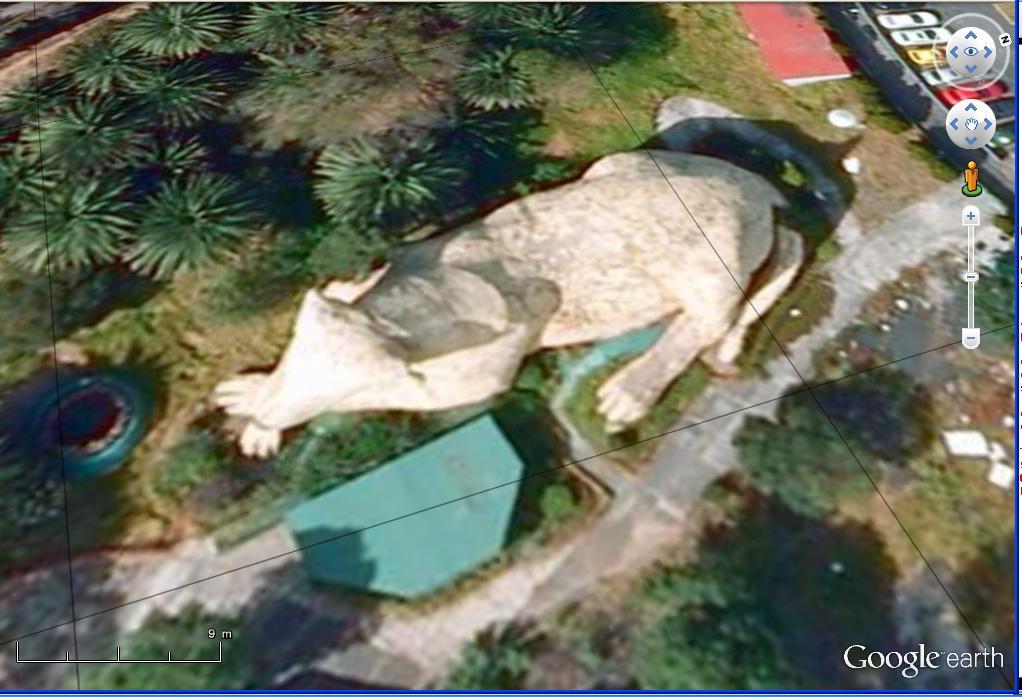 STREET VIEW : Les statues d'animaux dans le monde - Page 3 Chieng10