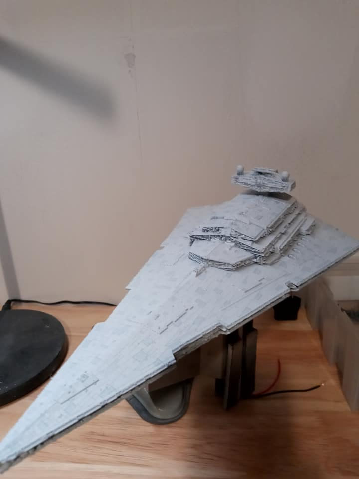 Imperial Star Destroyer Bandai 1/5000 Imperi10
