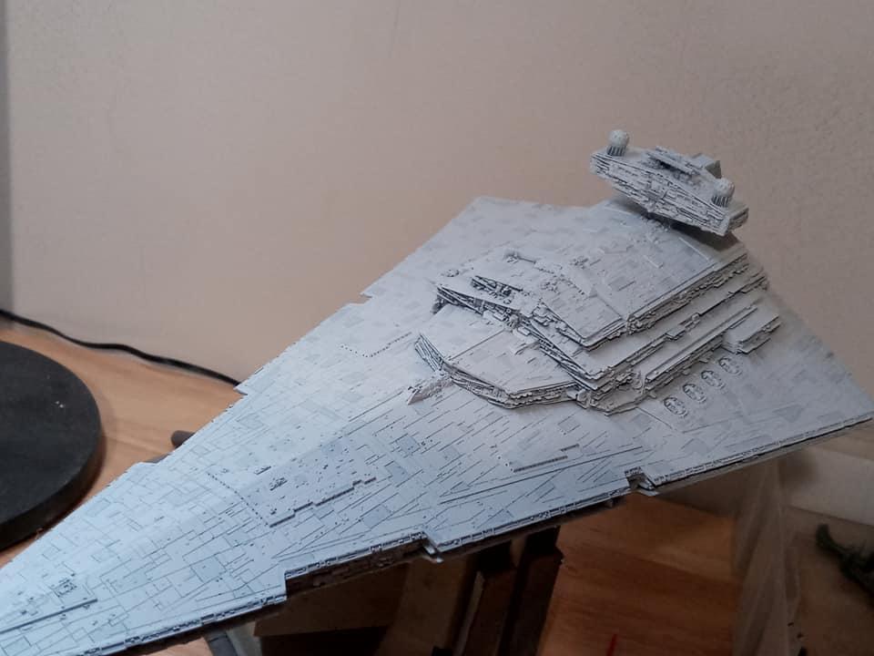 Imperial Star Destroyer Bandai 1/5000 Imperi12