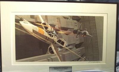 X-Wing Ralph McQuarrie 1/24 studio scale  Star-w10