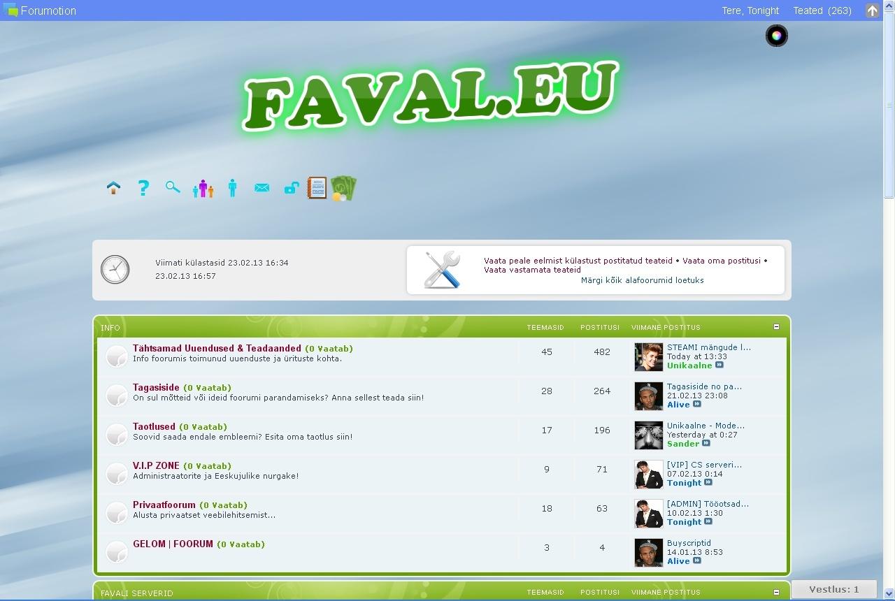 Favali 3 aastat Faval10