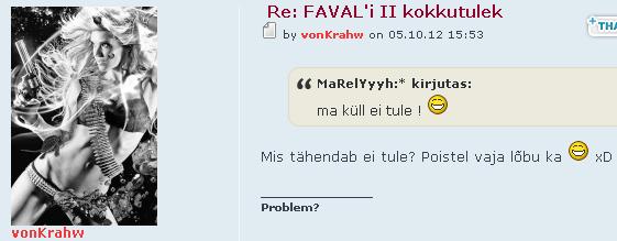 Naljakad postitused Favalis Nali810