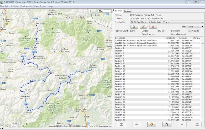 Trajet MapSource copié sur Nuvi 760 et non respecté... Iti-gp10