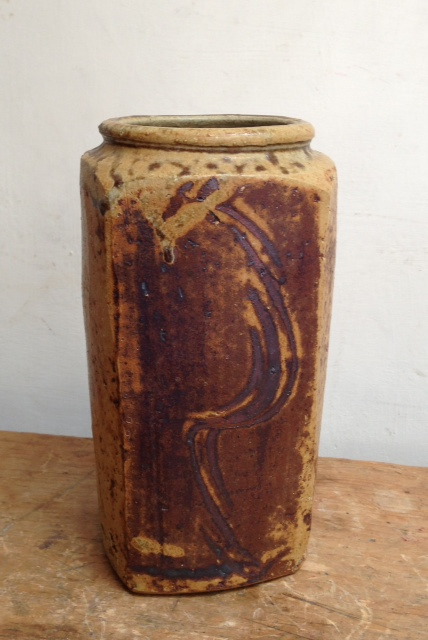 Leach pottery tall jar or vase - Jeff Oestreich Photo110