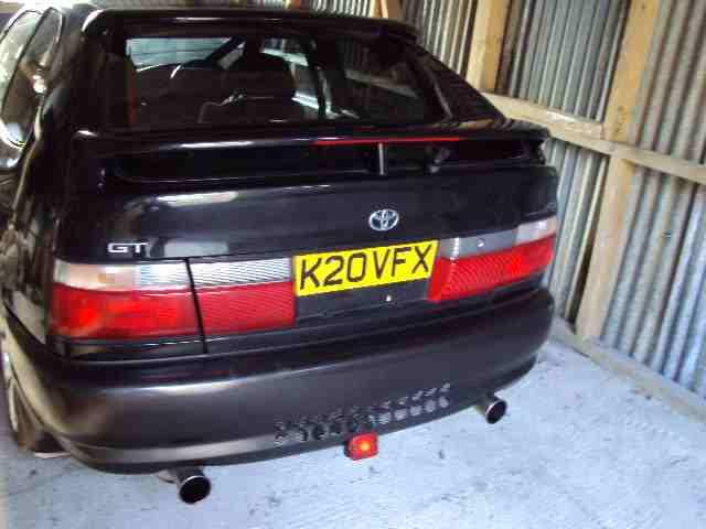 Corolla FX GT Rear emblem 20vfx010