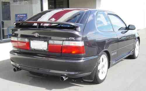 Corolla FX GT Rear emblem Rear1110