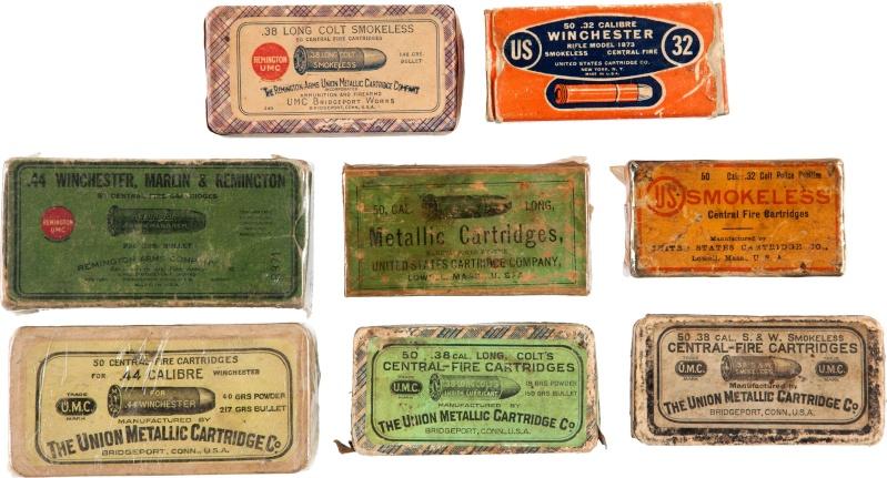 Boites de munitions antiques...... Lf_314