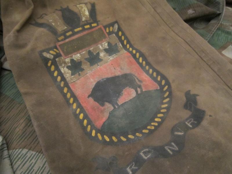 Navy Kit Bag with Artwork Img_0630