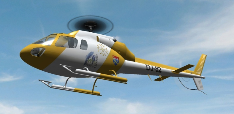 2ème Blade 450X  en AS350 As35010