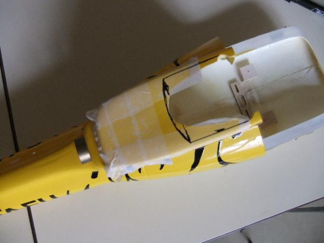 2ème Blade 450X  en AS350 Dscf2513