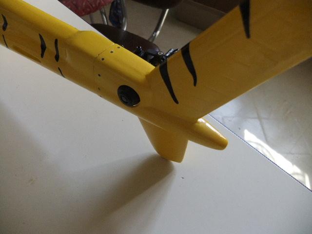 2ème Blade 450X  en AS350 Dscf2621