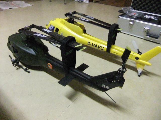 2ème Blade 450X  en AS350 Dscf2627