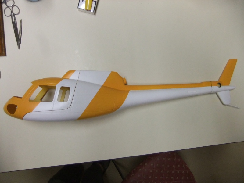 2ème Blade 450X  en AS350 - Page 2 Dscf2635