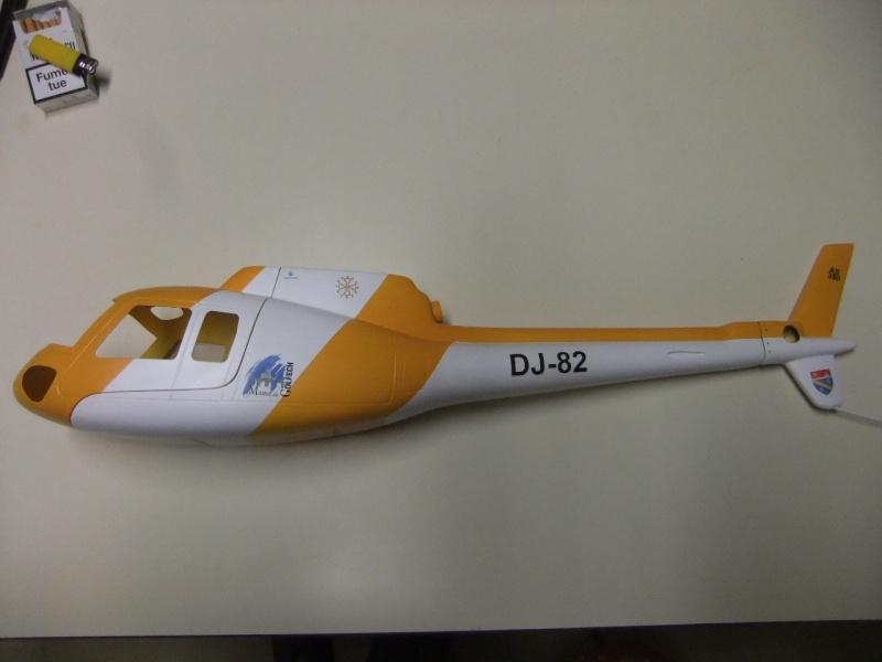 2ème Blade 450X  en AS350 - Page 2 Dscf2636