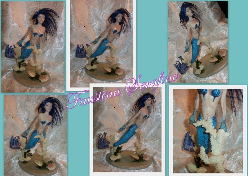 Blue fish mairmed (5 OOAK) 2013-011