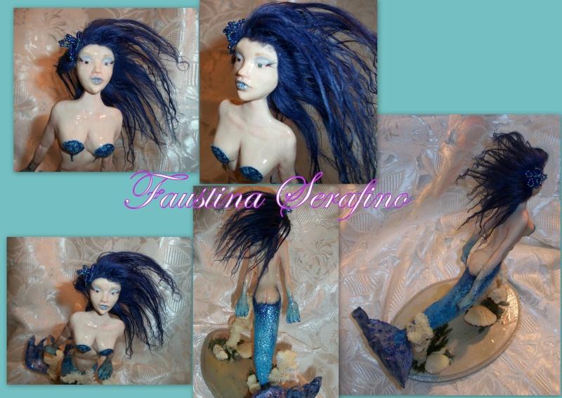 Blue fish mairmed (5 OOAK) 2013-012